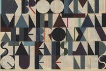 tipografía / letras, espacios, formas / by katalina silva