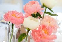 Reception Decor   Centerpieces   White & Pink