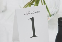 Reception Decor   Table Numbers