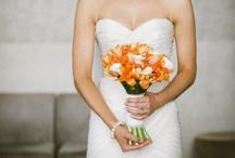 Bride   Bridal Bouquet   Orange