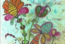 Zentangle patterns and designs