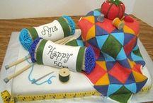 Quilt Cake / Mary's Birthday