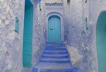 Colorful doors around the world