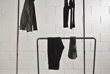 Living/home: clothes racks