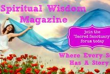 Spiritual Wisdom Magazine / I BELIEVE There is a place for a Spiritual Magazine that incorporates all religions & spiritual beliefs – Shared journeys – Celebrating the God-Self – Shining our light Spiritual Wisdom Magazine was created out of a need to encourage others to help others, be one with their individual consciousness while working with and in tune with the collective consciousness, and allowing other writers, creators, painters, poets and creatives to shine their light brightly and proudly.