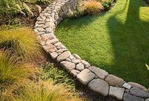 Walls / Outdoor Walls, retaining walls, seat walls, decorative walls, etc.