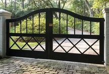 Entrance Gates / Outdoor gated entryway