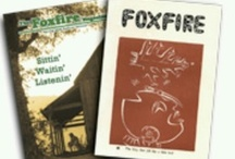 """Foxfire America / """"Foxfire"""" says a lot. A name of several species of bioluminescent fungi growing on rotting wood; name chosen by an English class in 1966, for a student-produced magazine; series of books, anthology collections of material from The Foxfire Magazine; a method of classroom instruction;  non-profit org overseeing production of The """"Foxfire"""" publications; a vast 45 year collection of information on American culture, preserving it for generations to come."""