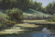 Landscape Art Ideas / by Steve Wagner
