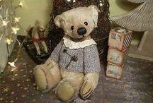 moji obľúbení medvedíci / týchto by som vééééľmi chcela :-)