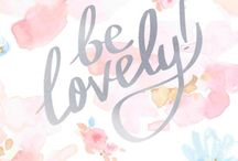Skincare & Quotes / Sometimes we all need a little push to remind how beautiful we are.