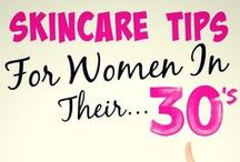 Skincare 20s 30s 40s & 50s / As we age our skin changes so we need to develop different habits.