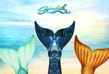 Designer Mermaid Tails / The Fantasea Tail Collection from Swimtails is a premium mermaid tail product made exclusively in the United States. Made to order by fashion designers.Exclusive limited edition designs are paired with premium fabrics and state-of-the-art manufacturing. Order your one of a kind, designer mermaid tail today
