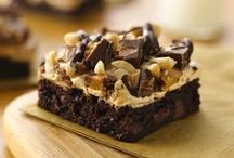 Food: Brownies, fudge etc