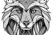 Foxes Tattoo Ideas