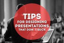 Presentation Design / Tips to design better Presentations.