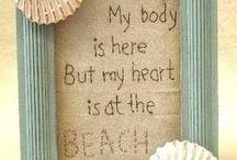Beachy Bathroom Decor / Beach Bathroom Inspiration  / by Angel V