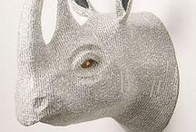 Rhino Art / Art made for the love of Rhinos