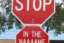 ☻☻☻ FUNNY SIGNS ☻☻☻ / ☻☻☻ ☺☺ ☺☺ ☻☻☻ / by ༺♥༻♧ IRISH EYES ♧༺♥༻
