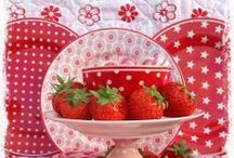 Decor...Strawberries/Berries / by Tealyn Tosh