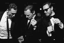 Michael Fassbender, Tom Hiddleston, Benedict Cumberbatch / HOT HOT HOT