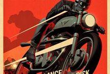 Reklamy / Reklamy z motocyklami