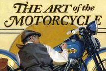 Sztuka / Sztuka z motocyklami i samochodami w roli głównej lub w tle