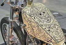 MotoArt / Pięknie pomalowane baki i inne elementy motocykli, czyli w skrócie sztuka piękna na motocyklach