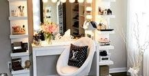 Beauty/organsation / beauty hacks and how to organise ur room with all those beauty things u have stored away and stashed when u can have it all out but still organised while u rock that make up. U go girl or boy   :)