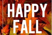 Fall (Autumn) - Otoño / Fall (or autumn) is my favorite season of the year.  Does that have something do with the fact that I was born in October?  (El otoño es mi estación favorita del año.  ¿Tiene algo que ver con el hecho de que nací en el mes de octubre?)