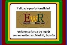 English with Raymond® (EwR) in Madrid (http://www.englishwithraymond.com) / MISIÓN DE EwR:  Garantizar la PROFESIONALIDAD y CALIDAD en la enseñanza de INGLÉS a los profesionales en Madrid.    GARANTÍA DE CALIDAD: El programa pedagógico de ENGLISH with RAYMOND® ofrece una formación integral de acuerdo con un modelo docente riguroso, de calidad y excelencia.