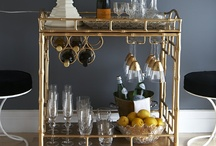 Bar Carts / cocktails on wheels