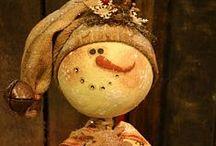 Snowmen melt my heart / by Melissa Hughes