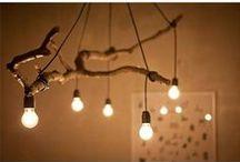Valaistusideaa / Valaistuksellisia ideoita lampuista tunnelmakuviin