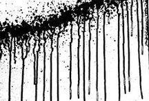 Zwart als roet