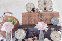 Horlosies, sleutels en stok ou goed... / Is mal oor horlosies, veral ou horlosies!