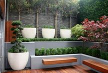 Patios and terraces
