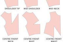 Craft - clothes - patterns / drawings - patterns