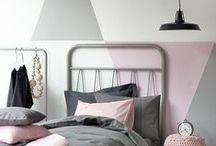 Festett falak / Painted walls