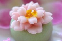 Art of Japanese Sweets / Inspiring beautiful traditional Japanese sweets - used often for the tea ceremony.