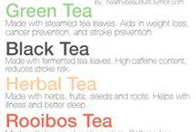 Propiedades del Té / El té, el rooibos y las infusiones se usan para prevenir y tratar síntomas y patologías.