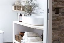 Bathroom Inspirations / Home is where the heart is. But what's a home without a beautiful bathroom? You will find some awesome bathroom inspirations here.