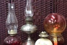 Lamps / All different styles of lamps and lighting from estate sales