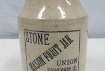 Stoneware / Vintage stoneware from estate sales.