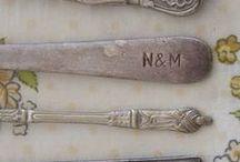 Silver / Sterling silver, silverware, silver jewelry, silver candelabras, silver tea sets, silver accessories, and more.