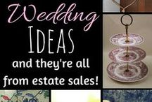 DIY Projects / Turn estate sale finds into fun DIY projects and stylish home decor.