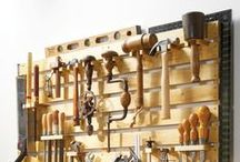 Woodworking / Always a great way to use a knife. Dreaming of the day our warehouse has a lathe.