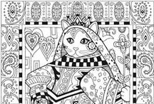 Coloring Pages Cats