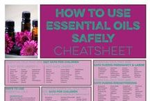 Essential Oil Safety & Education / Tips on how to use essential oils safely and effectively.