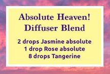 Essential Oil Blends / Essential oil blends that can be used for diffusing, as a master blend, inhalers, and more.